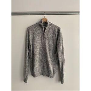 Brand new half zip soft sweater
